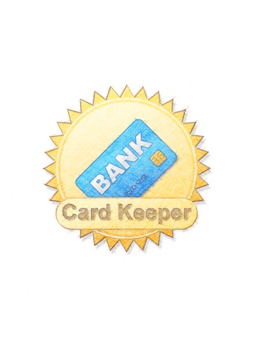 Credit Cards And Cheques Keeper With Backup iPad