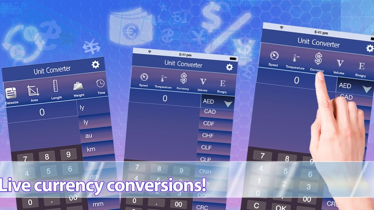 Unit + Currency Converter