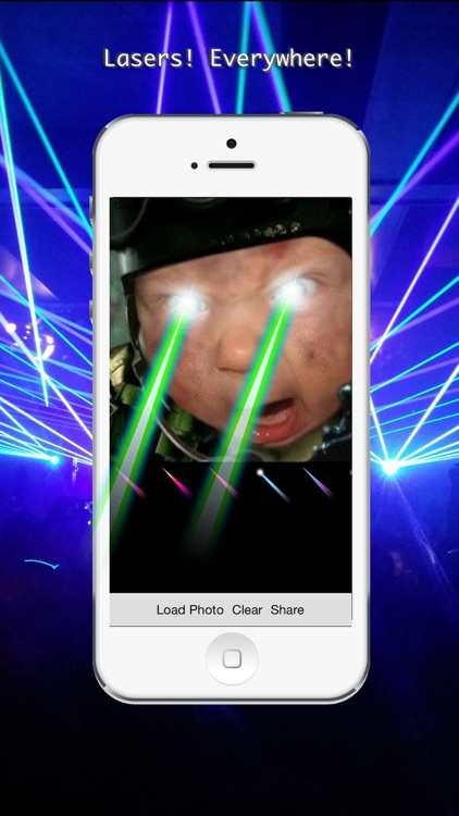 With Lasers - Add cool 'With Lasers' effects to your photos!