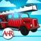 App Icon for Actividades con Camiones de Bomberos para Niños: puzles, colorear, memoria... App in El Salvador IOS App Store