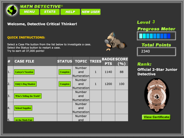 Math Detective 174 Beginning On The App Store