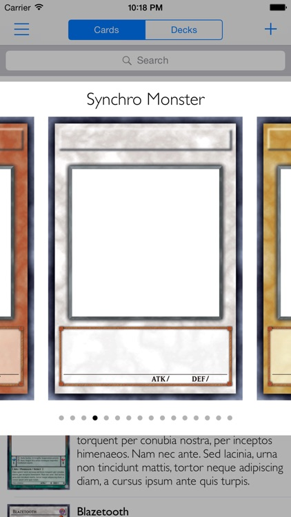 Card Creator for Yugioh screenshot-0