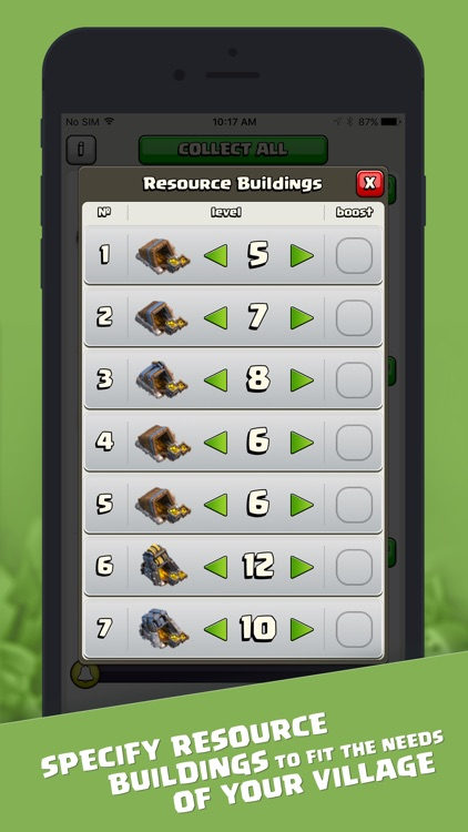 Resources for Clash of Clans screenshot-4