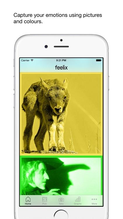 feelix - creative mood and emotion tracker