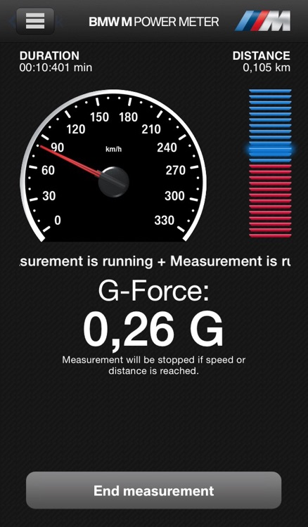 BMW M Power Meter