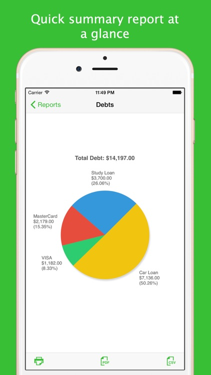Debts screenshot-4