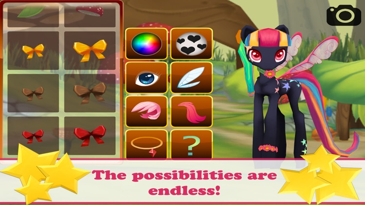 Pooka Pets - Style a Pet Fairy Pony in this Free Dress-up Game screenshot-3