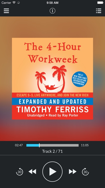 The 4-Hour Workweek, Expanded and Updated: Escape 9–5, Live Anywhere, and Join the New Rich (by Timothy Ferriss) (UNABRIDGED AUDIOBOOK)
