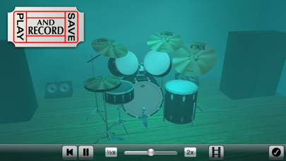 点击获取Spotlight Drums Pro ~ The drum set formerly known as 3D Drum Kit