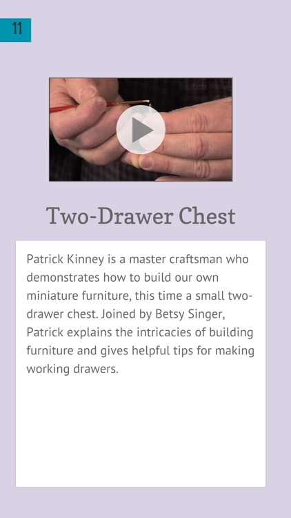 Furniture in Miniature screenshot-4