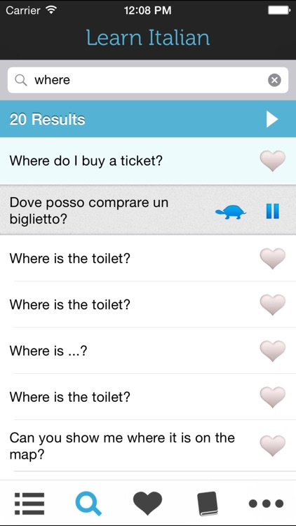 Learn Italian HD - Phrasebook for Travel in Italy screenshot-3