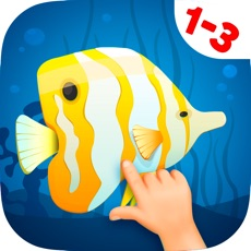 Activities of Animated Fish Jigsaw Puzzles for Kids and Toddlers