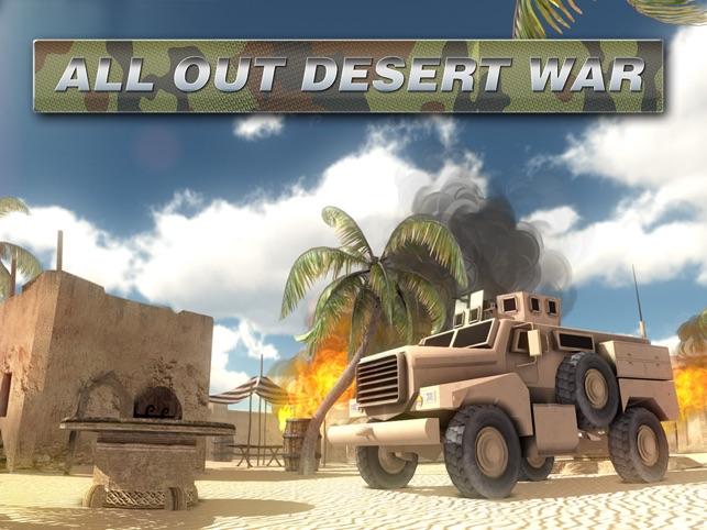 Trong tất cả các sa mạc chiến tranh miễn phí