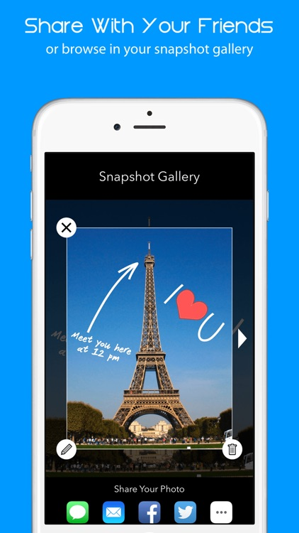 Snapshot Cam - Draw on Pictures & Add Text to Photos screenshot-4