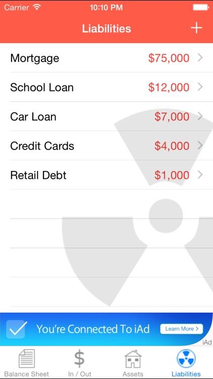 Cashflow Balance Sheet screenshot-4