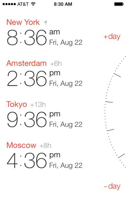 Miranda — Time Zone Converter, World Clock & Meeting Scheduler screenshot-3