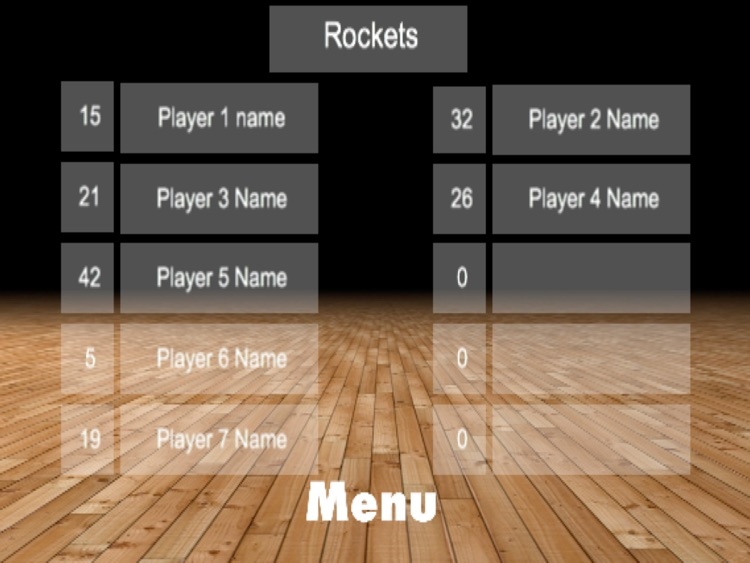 ScoreKeeper Basketball Pro HD screenshot-3