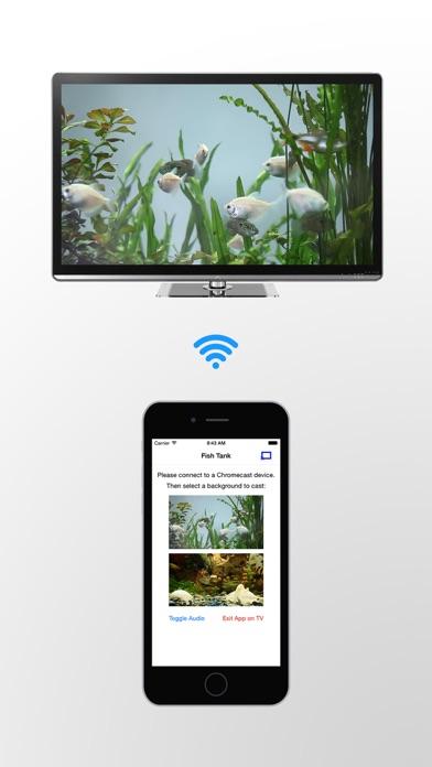 Fish Tank on TV for Chromecast
