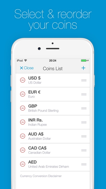 Change - Currency Converter screenshot-4