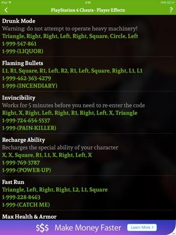 Cheats for GTA 5 - Unofficial GTA Cheater - AppRecs