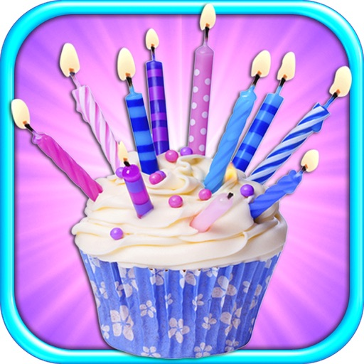 Birthday Cupcakes - Bake & Cooking Games for Kids FREE