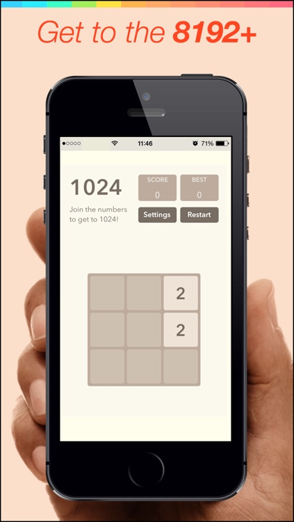 8192 Number Puzzle game
