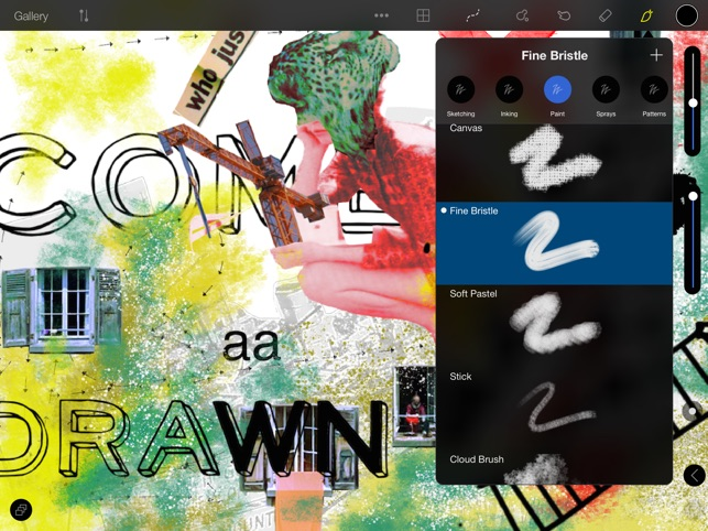 2D - Paint, Draw, Sketch, Collage Screenshot