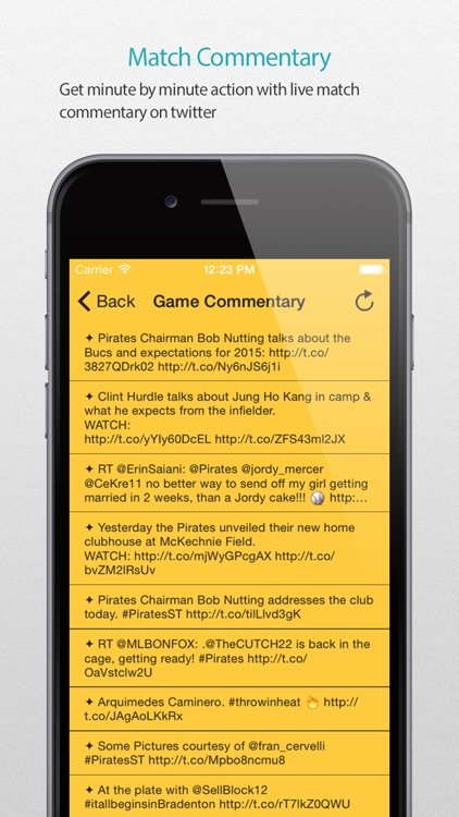 Pittsburgh Baseball Schedule Pro — News, live commentary, standings and more for your team! screenshot-4