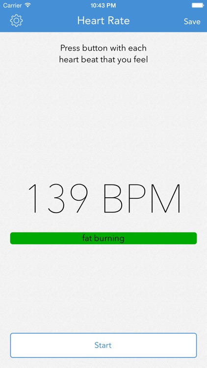 Heart Rate Monitor by LogYourRun screenshot-0