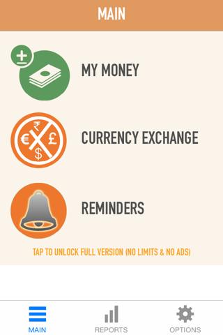 Expense Tracker - náhled