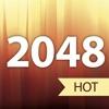 2048逻辑谜题。游戏中的地铁瓷砖。
