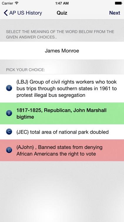 AP US History * screenshot-4