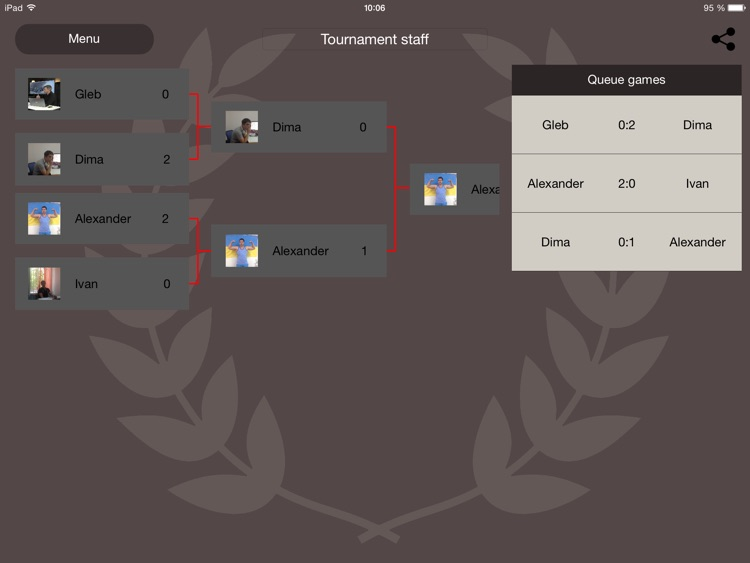 Tournaments PRO. Board for Team Games (Create, Track, Play and Win)! screenshot-3