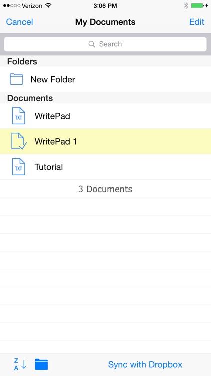 WritePad screenshot-4