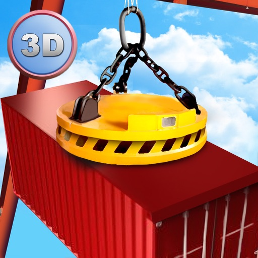 Harbor Tower Crane Simulator 2017 icon
