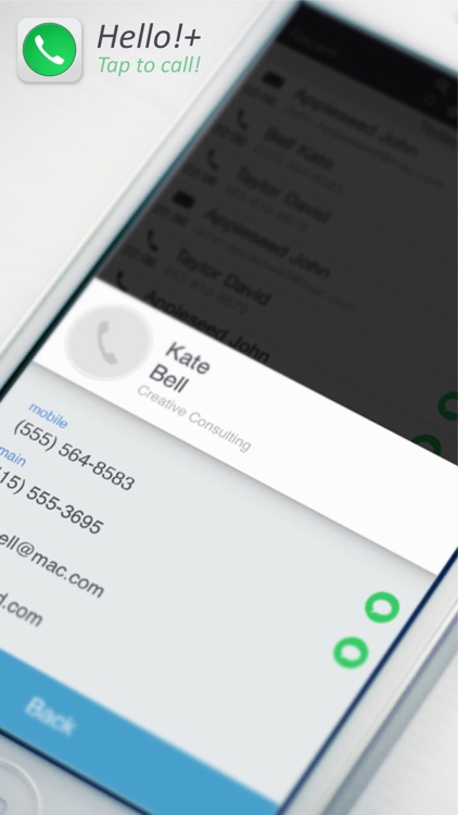 Hello!+ favorite dialer and T9 search screenshot-3