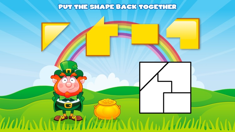Shapes with Lucky the Leprechaun screenshot-3
