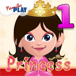 Princess Goes to School: First Grade Learning Games