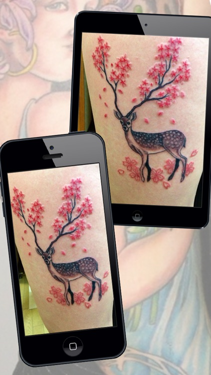 Tattoo Designs Art Studio Pro – Inked Yourself with Cross Animal Fire & Heart Design Tattoos Makeover App Without Pain screenshot-4