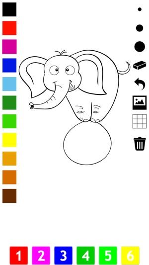 Circo Para Colorear Libro Para Niños: Aprender a Colorear el Mundo ...