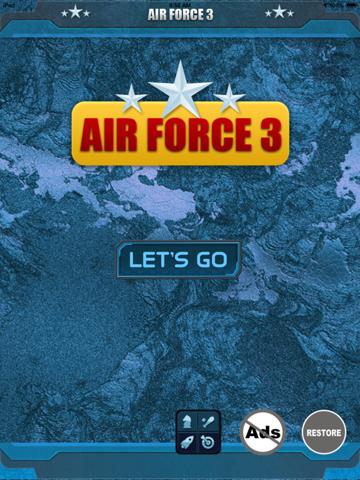 Ipad Screen Shot Air Force 3 - Fighter Jet Alpha Combat Chaos 2