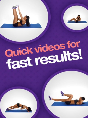 Amazing Abs – Personal Fitness Trainer App – Daily Workout Video Training Program for Flat Belly and Calorie Burn-ipad-0