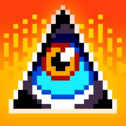 Ícone do app Doodle God: 8-bit Mania
