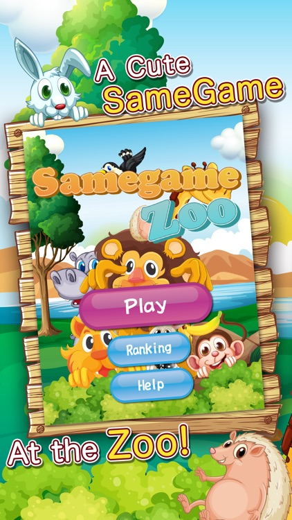 Samegame Zoo - Cute animal action puzzler!