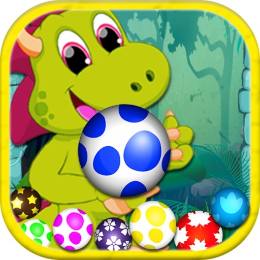 Dinosaur Eggs : Shooter Ball