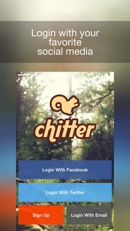 Chitter - Receive Local Freebies, Offers, Deals And Discounts While Shopping At Nearby Stores By Sharing screenshot-0