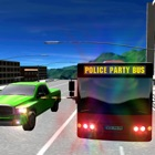 Polizei Party Bus Racing Simulator 3D icon
