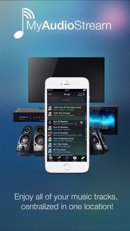 MyAudioStream Lite UPnP audio player and streamer