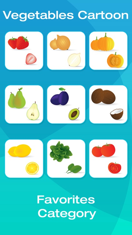 Fruit and Vegetable Picture Flashcards for Babies, Toddlers or Preschool (Free) screenshot-4