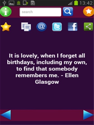 Screenshot 2 For Birthday Quotes